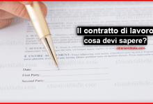 Il contratto di lavoro in Italia tutto ciò che devi sapere