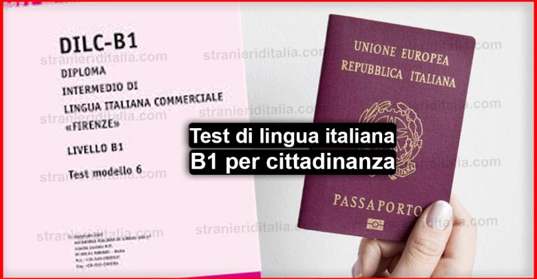 Livello b1 italiano per cittadinanza | guida completa 2019