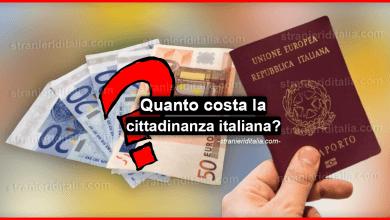 Photo of Quanto costa la cittadinanza italiana ?