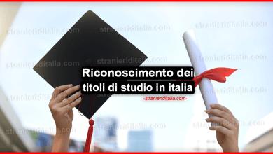 Photo of Riconoscimento dei titoli di studio in italia