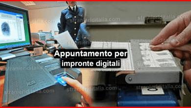 Photo of Appuntamento per impronte digitali: Come anticiparlo o posticiparlo?