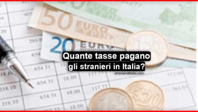 Contributi e imposte: Quante tasse pagano gli stranieri in Italia?