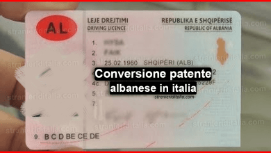 Conversione patente albanese in italia: cos'è e come funziona?