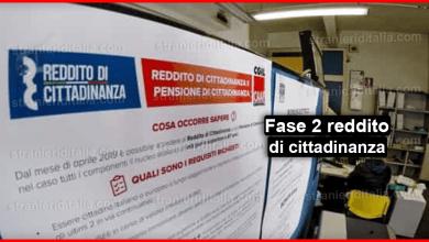 Photo of Fase 2 reddito di cittadinanza: Partono i percorsi per trovare lavoro!