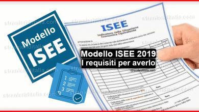 Photo of Modello ISEE 2019: come funziona e requisiti per averlo?