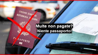 Photo of Multe non pagate! d'ora in poi niente passaporto e tanto altro!