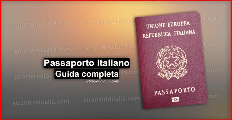 Passaporto italiano 2019 - modulo richiesta, Documenti e come ottenerlo
