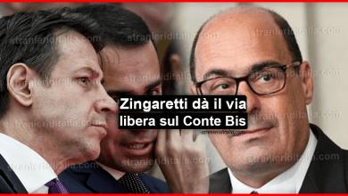 Photo of Zingaretti dà il via libera sul Conte Bis, resta il nodo sui ministeri!