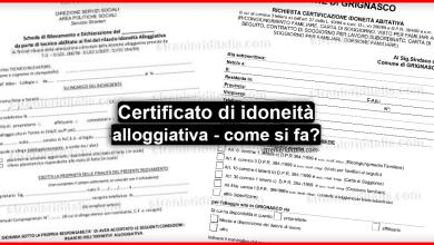 Photo of Certificazione idoneità abitativa, la nuova procedura!