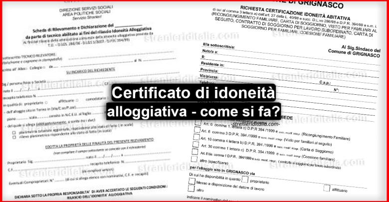 Certificazione idoneità abitativa, la nuova procedura!