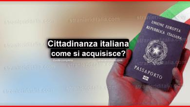 Photo of Cittadinanza italiana agli stranieri: come si acquisisce?