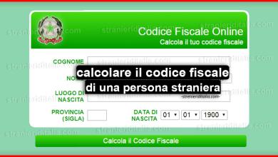 Photo of Come calcolare il codice fiscale di una persona straniera?