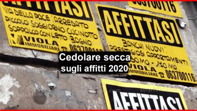 Photo of Aumenta la cedolare secca sugli affitti 2020: cosa cambia?