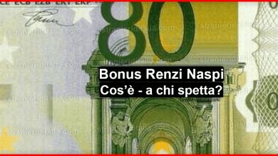 Photo of Bonus Renzi Naspi ottobre 2019, Cos'è e Come fare la richiesta?