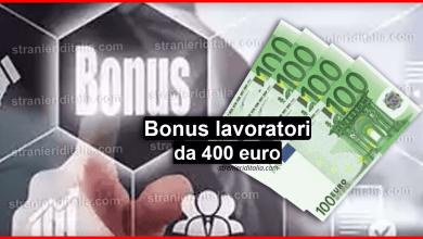 Photo of Bonus lavoratori da 400 euro: A che spetta in caso di approvazione?