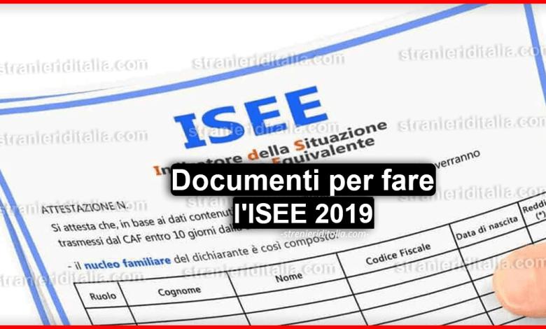 Documenti per l'ISEE 2019: tutto ciò che devi sapere!