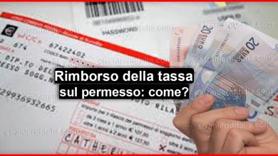 Photo of Rimborso della tassa sul permesso di soggiorno: come funziona?