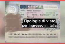 Photo of Visti d'ingresso in Italia: Tipologie e i requisiti per ottenerli 2020