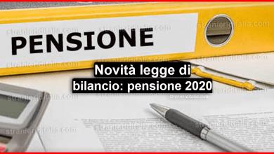 Photo of Novità legge di bilancio: pensione 2020