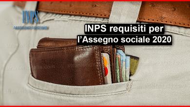 Photo of Assegno sociale 2020: INPS requisiti | Stranieri d'Italia