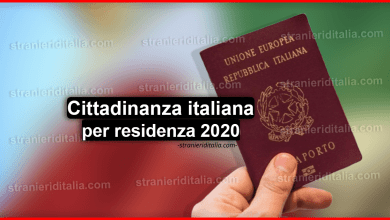 Photo of Documenti per cittadinanza italiana per residenza 2020 – (lista aggiornata)