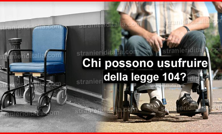 Legge 104: come funziona e requisiti per il 2020 | Stranieri d'Italia