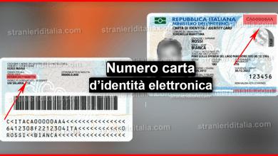 Photo of Numero carta d'identità elettronica | Stranieri d'Italia