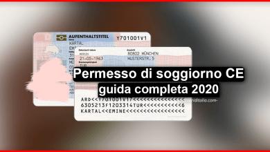 Photo of Permesso di soggiorno CE (guida completa) | Stranieri d'Italia