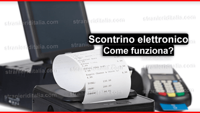 Photo of Scontrino elettronico (come funziona) | Stranieri d'Italia
