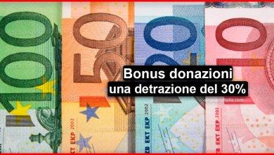 Photo of Bonus donazioni Coronavirus, spetta una detrazione del 30%