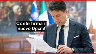 Photo of Coronavirus: Conte firma il nuovo Dpcm, Ecco le nuove misure!