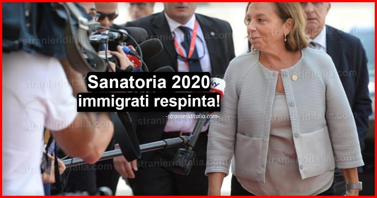 Sanatoria 2020 immigrati respinta! (regolarizzazione degli ...