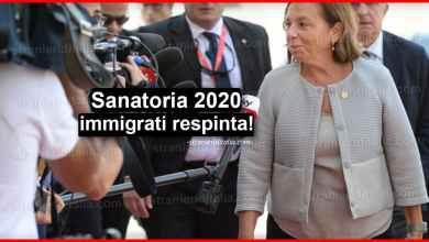 Photo of Sanatoria 2020 immigrati respinta! (regolarizzazione degli stranieri)