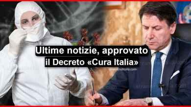Photo of Ultime notizie! Coronavirus: Decreto cura Italia approvato dal governo