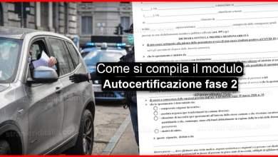 Photo of Autocertificazione fase 2 pdf >> Ecco come si compila il modulo ✅
