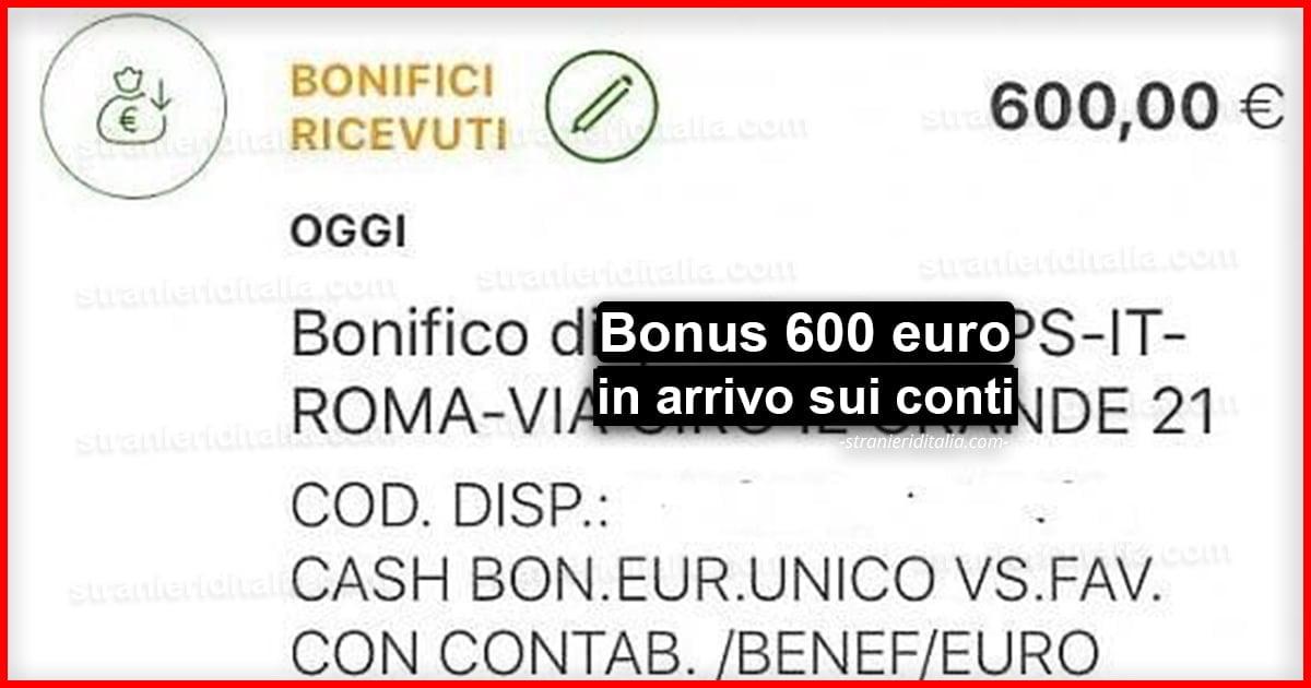 Bonus 600 euro in arrivo sui conti dei lavoratori autonomi ...