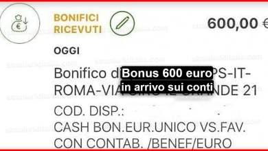 Photo of Bonus 600 euro in arrivo sui conti dei lavoratori autonomi e partita Iva!