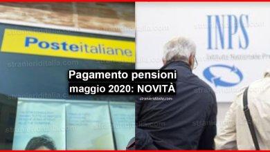 Photo of Pagamento pensioni maggio 2020: anticipato al 27 aprile!