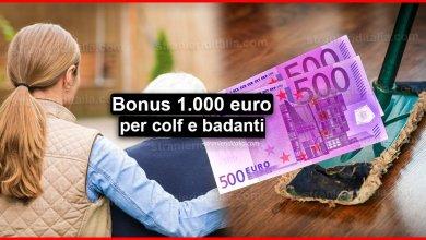 Photo of Bonus 1.000 euro colf e badanti: Ecco come ottenerlo