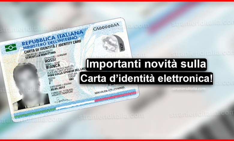 Carta Di Identita Elettronica Ecco Le Novita Sul Documento