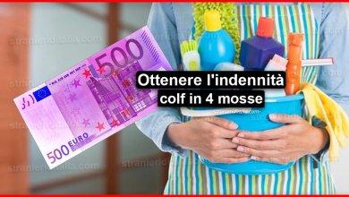 Photo of Come ottenere l'indennità colf in 4 mosse | Stranieri d'Italia