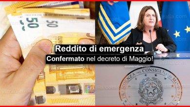Photo of Reddito di emergenza 2020: Confermato nel decreto di Maggio!