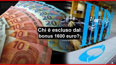 Photo of Reddito di emergenza: Ecco chi è escluso dal bonus fino a 1600 euro