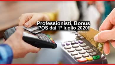 Photo of Bonus POS 2020 1 luglio: Cos'è e come funziona credito d'imposta 30%