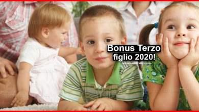 Photo of Bonus Terzo figlio 2020: Quando viene pagato il Bonus terzo figlio 2020?