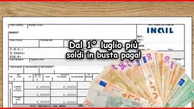 Photo of Bonus cuneo fiscale 2020: dal 1° luglio più soldi in busta paga