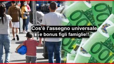 Photo of Family Act: Cos'è l'assegno universale e bonus figli famiglie