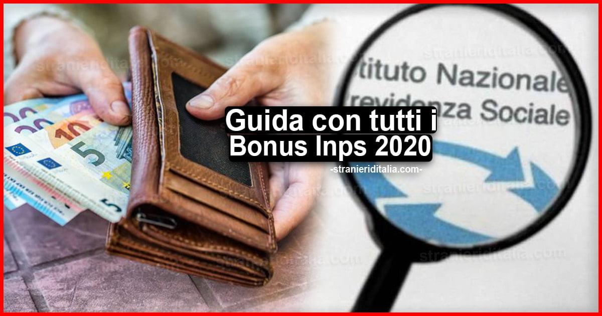 Tutti i bonus Inps 2020: ecco gli incentivi per le ...
