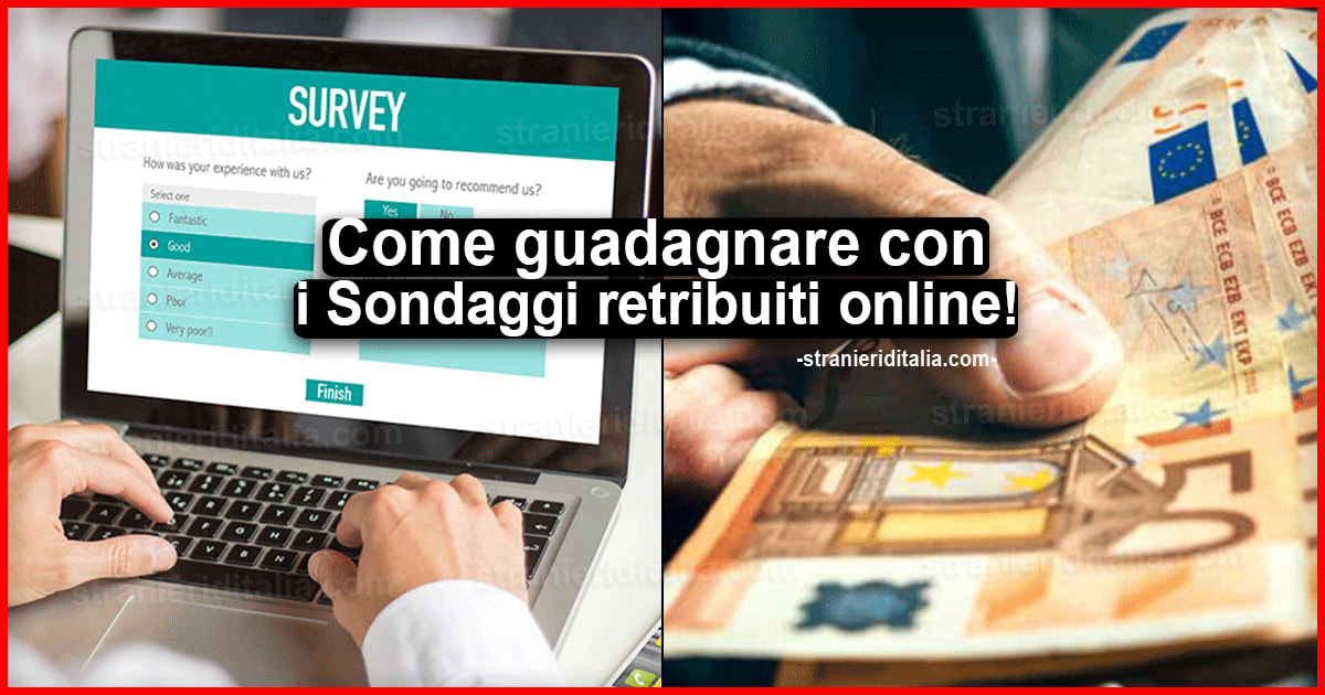 guadagnare sondaggi online banco btci togo