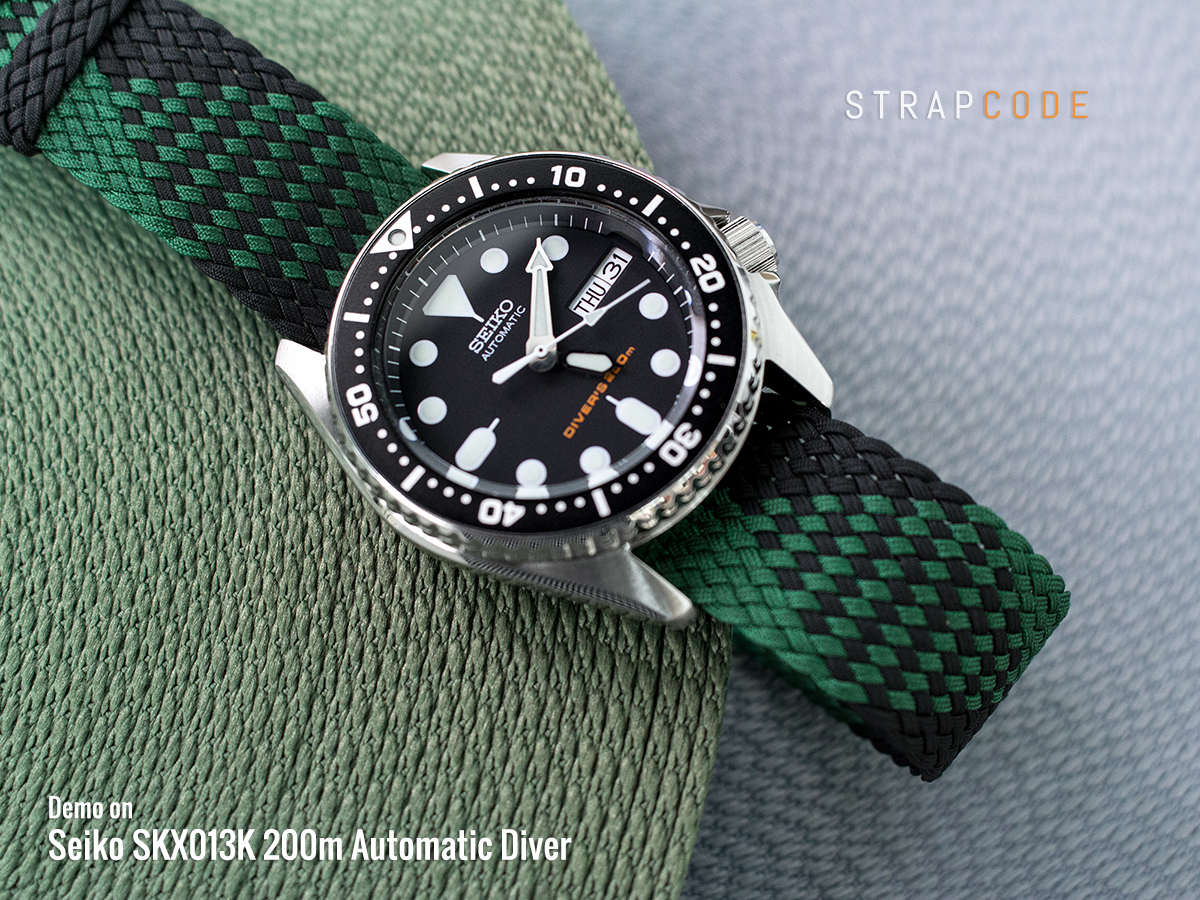 Fs Strapcode Miltat 20mm Colorful Perlon Straps For Seiko